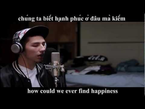 chang trai nguoi my hat nhac rap viet cuc chat (kham phuc)