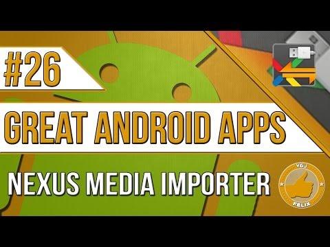Video of Nexus Media Importer