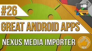 Nexus Media Importer YouTube video