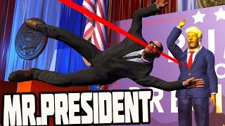 DONALD TRUMP BODY GUARD SIMULATOR - Mr.President (Gameplay)