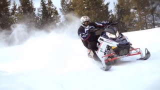 11. 2012 Polaris Switchback 800 Pro-R Snowmobile Review