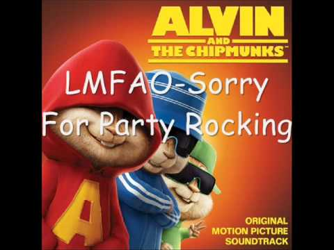Alvin and the chipmunks~LMFAO-Sorry For Party Rocking
