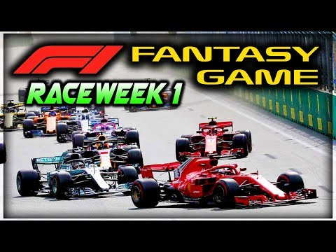 F1 Fantasy Game Raceweek 1 - aarava YouTube League Breakdown!