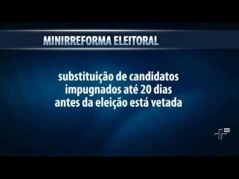 Texto da mini reforma eleitoral