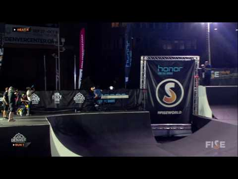 Konstantin Andreev - 1st Semi Final UCI BMX Freestyle Park World Cup - FISE World Denver 2016