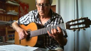 Another classical arrangement on request for my students. For tabs and standard notation and more information, please follow this link: http://profdeguitare.com