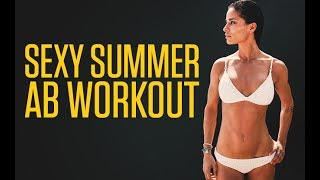 The best sexy summer ab workout can be found in our 90 day fitness and nutrition program http://athleanx.com/x/sexy-summer-abs-workoutThis sexy summer ab workout can be done at home and will show you how to get bikini abs with just 5 exercises.  This summer ab routine hits lower abs, upper abs and obliques.  Try this abs workout and you'll find that it's the best summer ab routine.There are 5 exercises in this bikini abs routine.  The only equipment you need for this summer abs workout is a dumbbell.  For each of the exercises in this best summer ab routine, do 10-12 reps.  If you are a beginner shoot for 1-2 rounds of this bikini series.  If you are more advanced try to do 3-4 rounds of this ab workout.  If you are looking for a full length core workout, check out our complete Athlean-XX for Women program https://athleanx.com/best-workout-program-for-women/getleanHere are the exercises that make up this summer abs workout:1) Seated Leg Lift2) Twisted Scorpion3) V Reaches4) Roll Crunches5) Plank Rotating CrunchFor all the best abs workouts subscribe to our Youtube channel https://www.youtube.com/user/womensworkouts