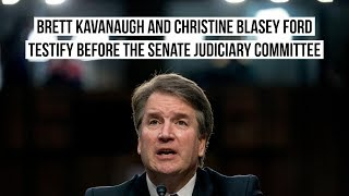 Brett Kavanaugh and Christine Blasey Ford testify before the Senate Judiciary Committee - part two