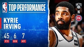 Kyrie SHOWS OUT In Detroit! by NBA