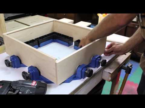 Build a Small Cabinet with Rockler's Clamp-It Corner Clamping Jig