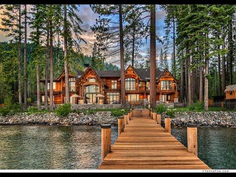 McKinney Lodge Lakefront Estate -  Lake Tahoe Real Estate Showcase