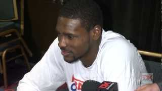 Bernard James Draft Combine Interview