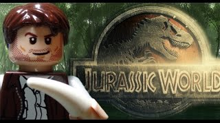 Видео Lego Jurassic World