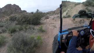 Kingman (AZ) United States  City pictures : Polaris Voddoo Blue 1000 RZR Trail in Kingman Arizona United States