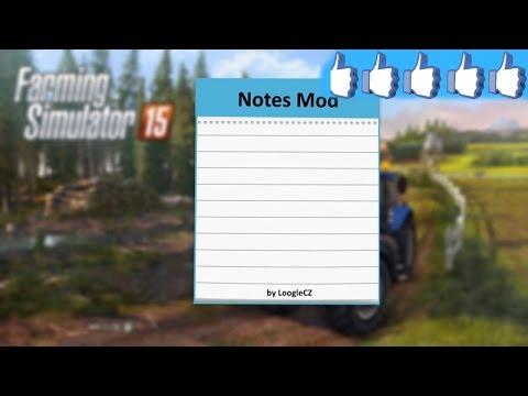 Notes Mod v1.0