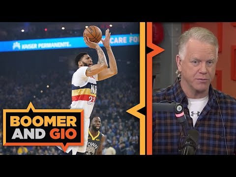 Video: Lakers offer everything but the KITCHEN sink for Anthony Davis | Boomer and Gio