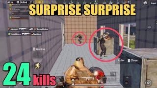 Levinho The Snake Master | 24 Kills Random Squad | PUBG Mobile