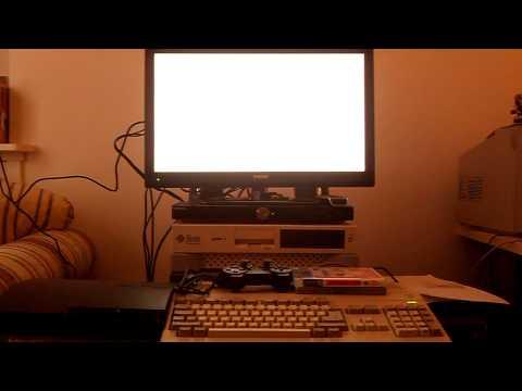 Amiga 500 on tv w/o flickerfixer or scandoubler