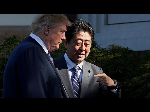 Donald Trump beginnt Asienreise in Japan