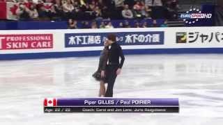 2014 WC - Piper GILLES / Paul POIRIER (FD)