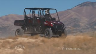 6. Polaris Ranger 570 Crew Cab Review