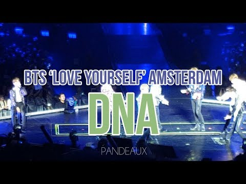 181013 BTS(방탄소년단) 'LOVE YOURSELF' IN AMSTERDAM - DNA