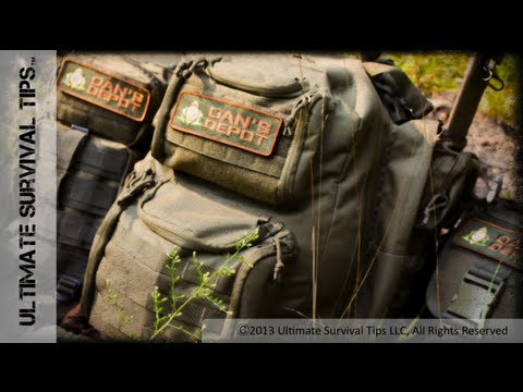 NEW! Best Pre-Made Bug Out Bag? Dan's Depot Adirondack Survival Pack REVIEW – PART 1