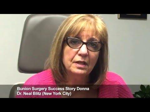 Donna: Bunion Surgery