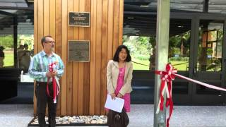 Katen 2016 at Arboretum of Los Angeles County, Arcadia - Ribbon cutting cermony