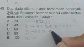Video Prediksi Ujian Nasional Matematika 12IPS 2017 No.40- Peluang MP3, 3GP, MP4, WEBM, AVI, FLV November 2017