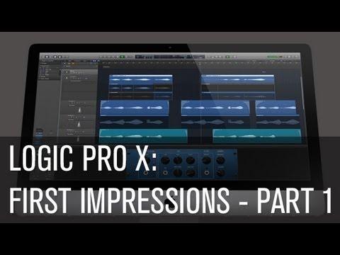 Logic Pro X: First Impressions Part 1 – Ski Oakenfull