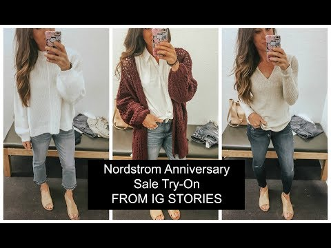 Nordstrom Anniversary Sale Try-On (FROM IG STORIES) PART ONE