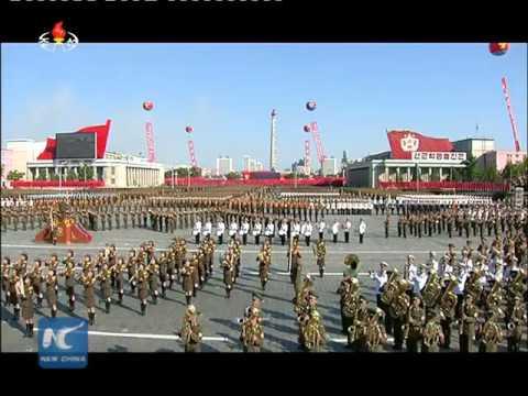 Parada u Severnoj Koreji povodom 70 godina vladajuće partije