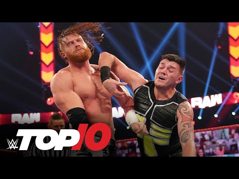 Top 10 Raw moments: WWE Top 10, September 28, 2020