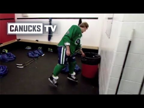 Can - Who do you think hid Dale Weise's helmet? The Vancouver Canucks have some fun with Dale Weise ahead of a practice in Ottawa. This footage captured by the cre...