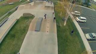 Sylvan Lake (AB) Canada  city photo : Aerial Skatepark Footage - Sylvan Lake, Alberta