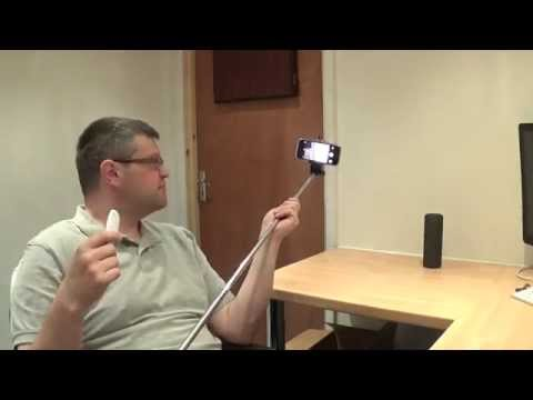 Selfie stick & bluetooth snapper review