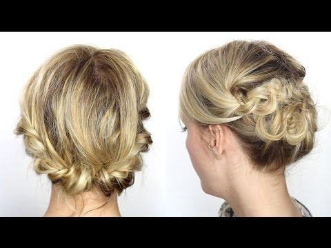 Tutoriel coiffure facile cheveux mi-longs/courts