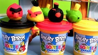 Angry Birds Softee Dough Figure Maker Playset Play Doh Ultimate Epic Review Mold Create birds