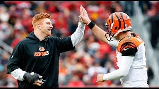 The Bengals defeated the 49ers, 24-14, in A.J. McCarron's first NFL start.