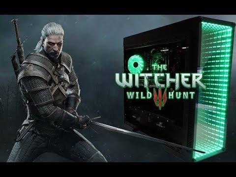 Chipart - SORTEIO MEGA PC!!! Jogando The Witcher
