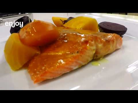 Cedar Baked Columbia River Steelhead Trout Recipe