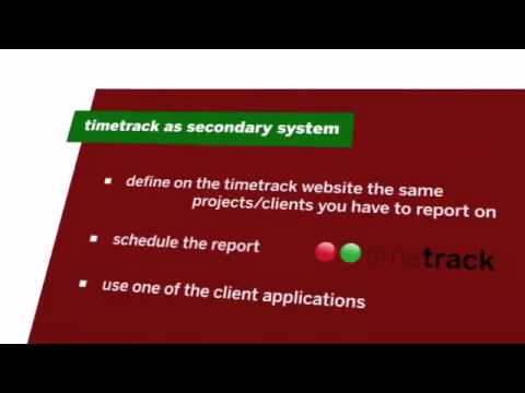 Video of timetrack