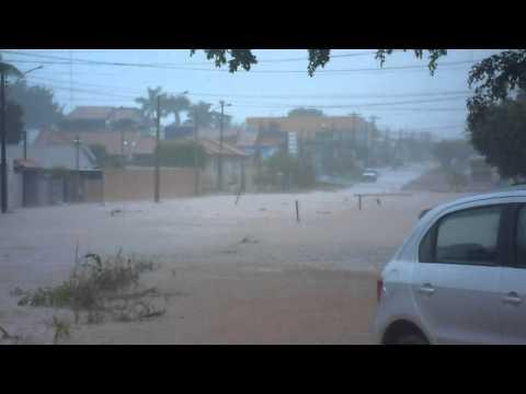 Chuvas em Rolim de Moura-ro