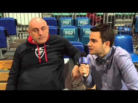 Fortitudo, il video di Boniciolli pre match Jesi