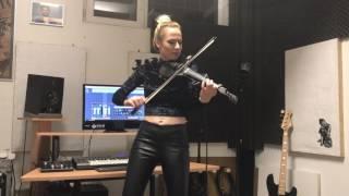 Shape of You - Ed Sheeran | Amadeea Violin Cover | Alex Cooper Remix