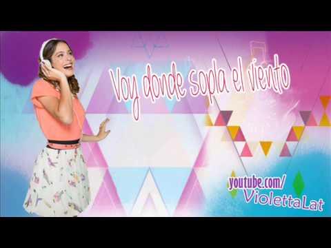 Violetta 2 - Mi Mejor Momento (Karaoke + Letra)