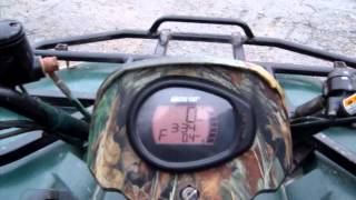 10. 2007 Arctic Cat 400 ATV