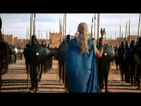 Epic Dragon Scene Game of Thrones Season 3 Daenerys Targaryen Rise to Power (Part 1) (HD)
