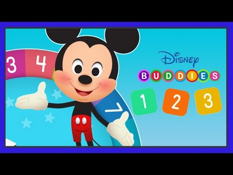 Disney Buddies 123s - Learn to Count Numbers 1 to 20 With Disney Characters